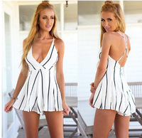 Summer Style Floral Print Jumpsuit Women Shorts Sleeveless Casual Resort Wear Monos Mujer Macacao Feminino Playsuit
