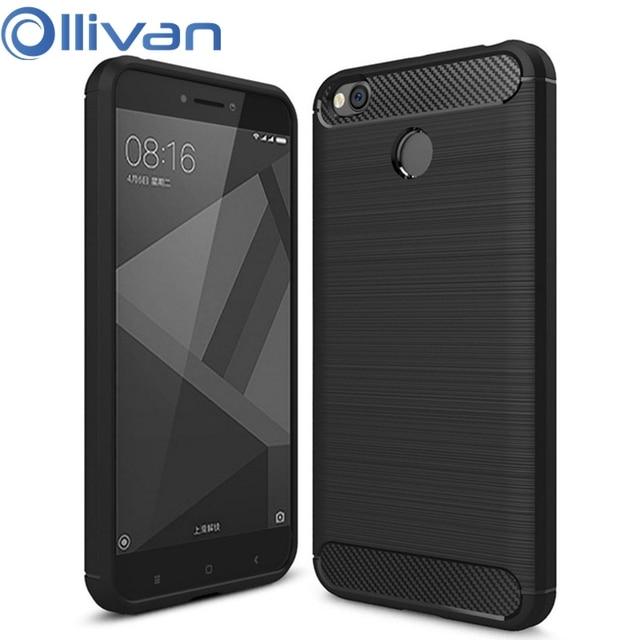 Carbon Fiber Silicone Case For XiaoMi RedMi 4X 5 Plus 5A 6A S2 Note 5 6 Pro XioMi Mi PocoPhone F1 A1 A2 Lite OnePlus 6T 6 Cover