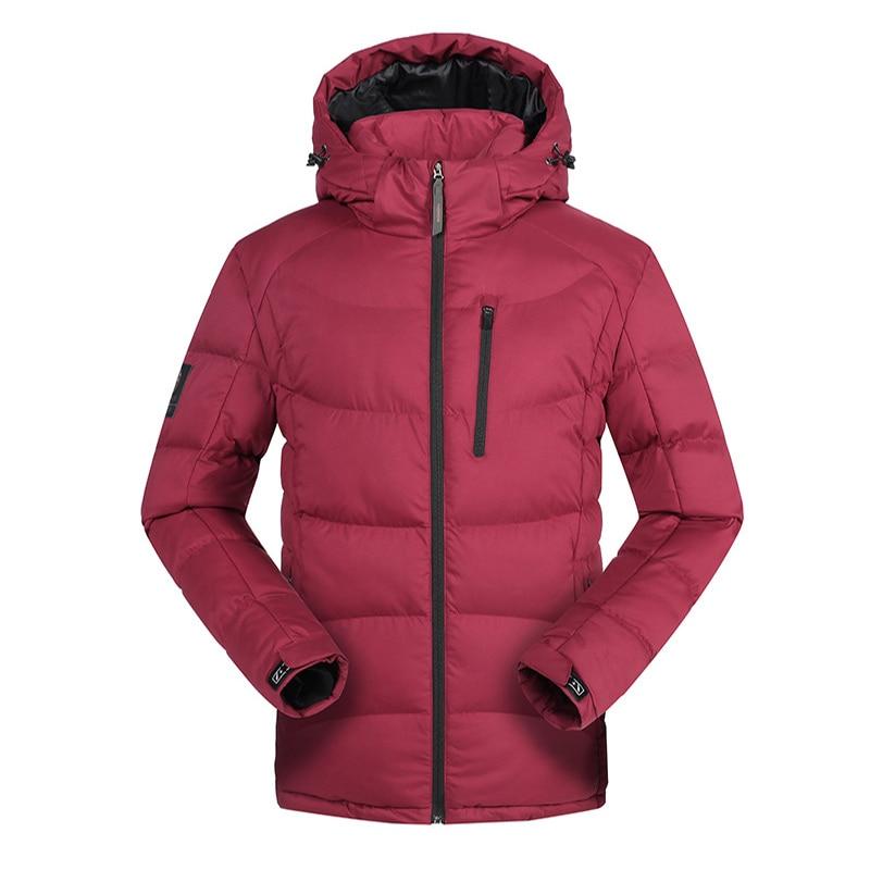 Winter outdoor men hooded down jacket hiking ski jacket waterproof windproof Warm breathable coat casaca hombre invierno Parka тостер sinbo st 2412