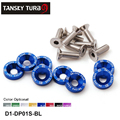Tansky - 8PCS/SET JDM Style Fender Washers Bumper Washer Lisence Plate Bolts Kits for CIVIC ACCORD D1-DP01S