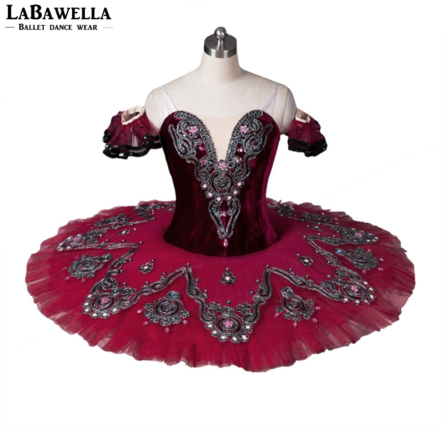 171ec7bf11ab Detail Feedback Questions about Blue Bird BaFree Shipping Women Burgundy  Princess Florina Performance Ballet Tutu Girls Professional Tutu Costume  BT8992B on ...