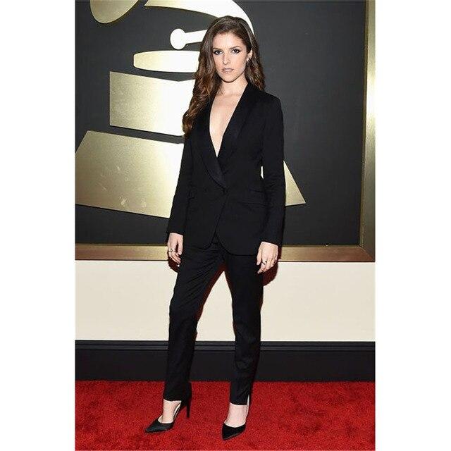 zwart pak voor vrouwen
