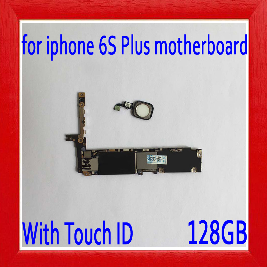 100% Original unlocked for iphone 6s plus Motherboard with Touch ID,128gb White for iphone 6s plus Logic board,No iCloud100% Original unlocked for iphone 6s plus Motherboard with Touch ID,128gb White for iphone 6s plus Logic board,No iCloud