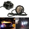 1 pc 15 W 12 V Super Brilhante LEVOU Luz Diurna Olho de Águia Running Luz DRL Luzes de Estacionamento À Prova D' Água DC12V para Audi BMW carro-styling