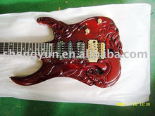 top quality QShelly custom ESP 3 pickups gold hardware Carved GUITAR 6 string guitarra musical instrument electric guitar shop(China)