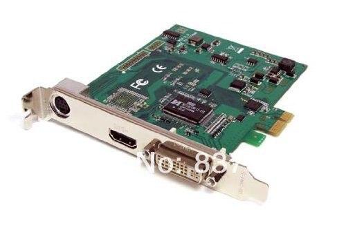 PCI Express HD Video Capture Card 1080p - SDI/HDMI/DVI/VGA/Component TV Tuners/Video Capture (PEXHDCAP)