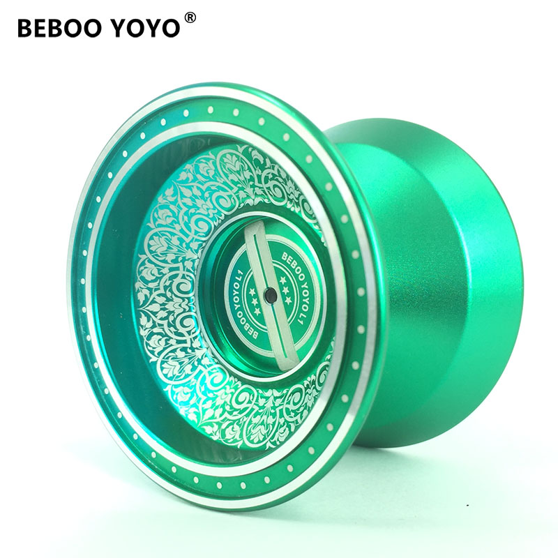 BEBOO YOYO Professional Yoyo Set Yo yo + Glove + 3 Ropes + Bearing L1 Yo-yo High Quality Classic Toys Diabolo Gift for children