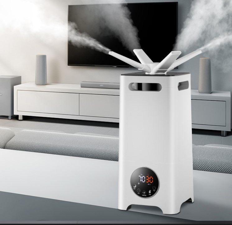 13L Air Humidifier Industry Commercial High Power Large Scale Amount Of Fog Humidifier