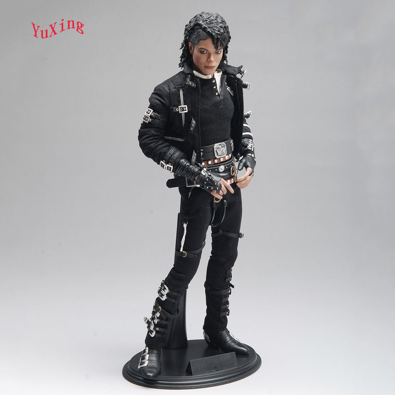 1/6 Scale Michael Jackson Action Figure Model Toys MJ Gifts Collections For Children Full Set Figures Movable Eyes