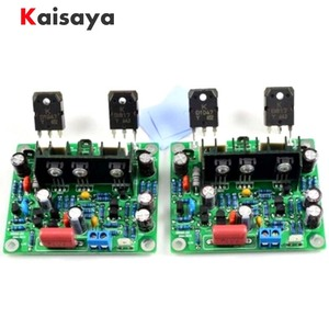 2pcs HiFi MX50 SE 2.0 dual channel 2x 100W Stereo Power amplifier DIY KIT and finished board(China)