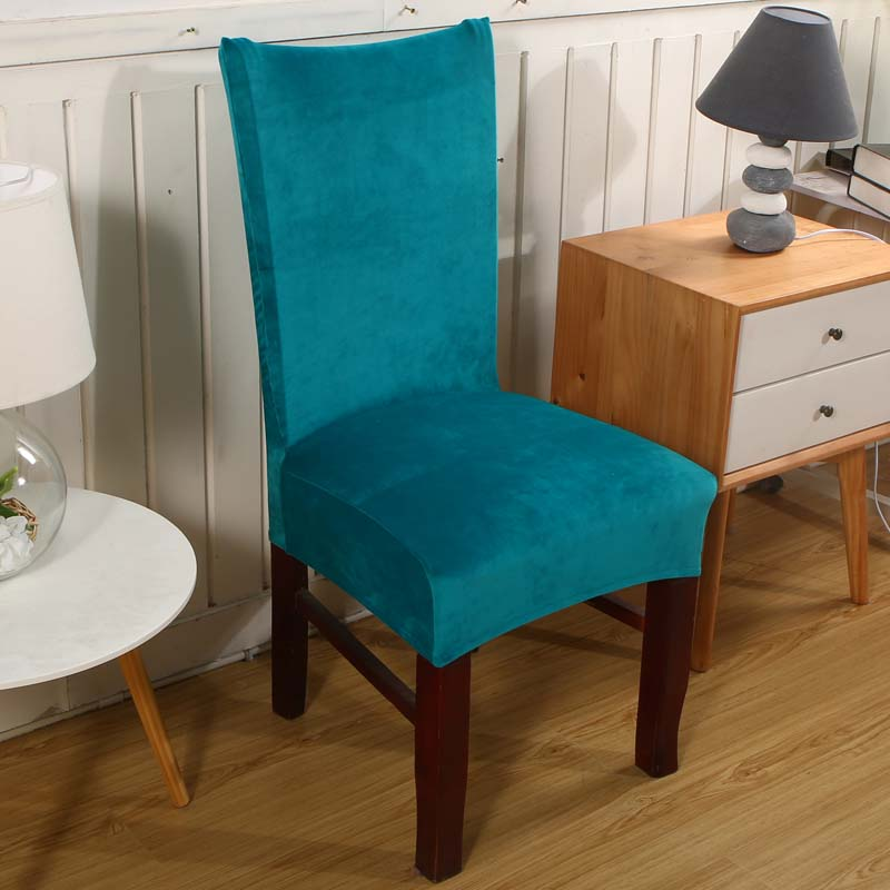 Universal Fox Pile Fabric Stretch Chair Cover Elastic