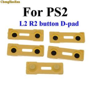 Image 4 - تشنغوهران 100x استبدال سيليكون المطاط موصل منصات R2 L2 أزرار اللمسات ل بلاي ستيشن 2 تحكم PS2 إصلاح أجزاء