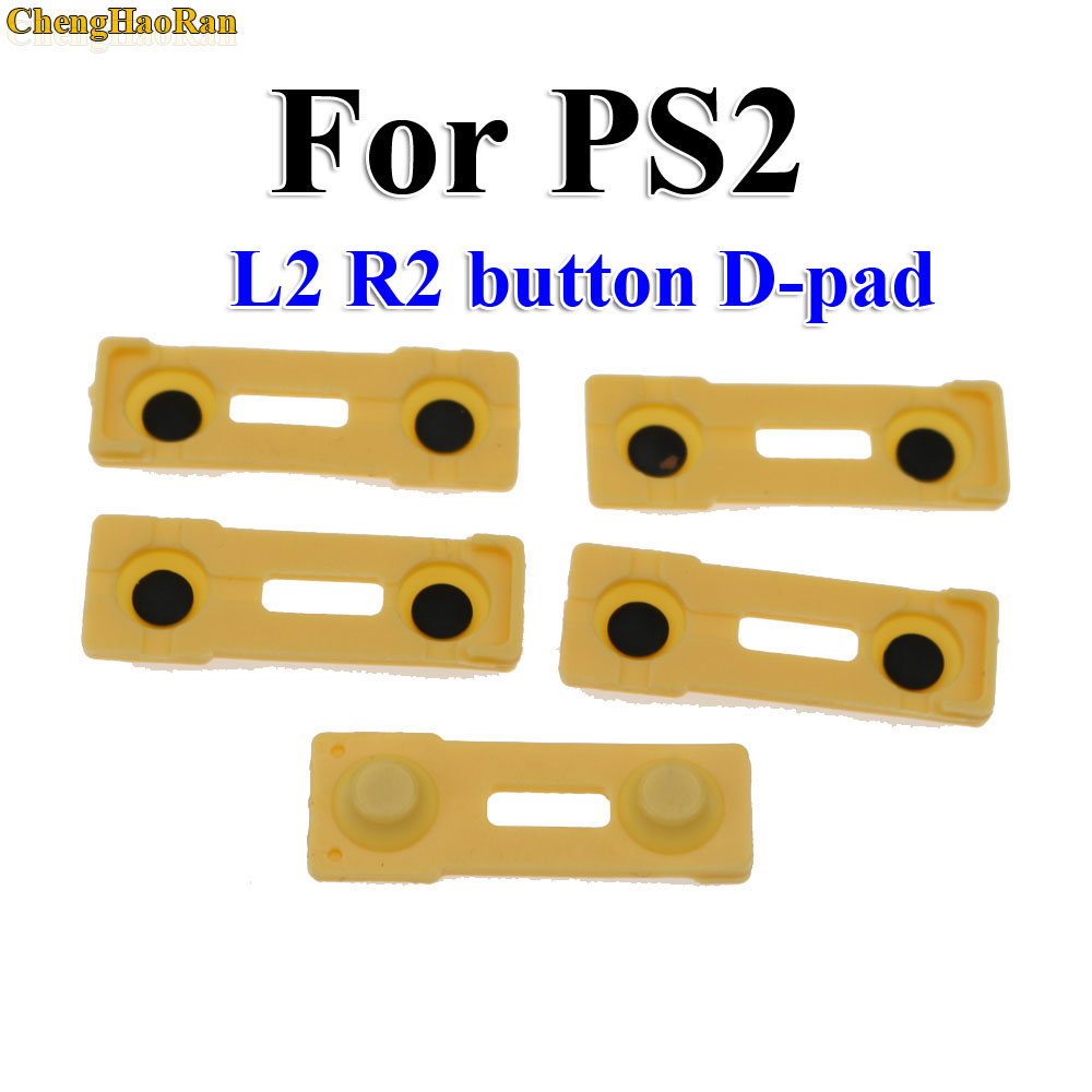 Image 4 - ChengHaoRan 100x Replacement Silicone Rubber Conductive Pads R2 L2 buttons Touches For Playstation 2 Controller PS2 Repair Parts-in Replacement Parts & Accessories from Consumer Electronics