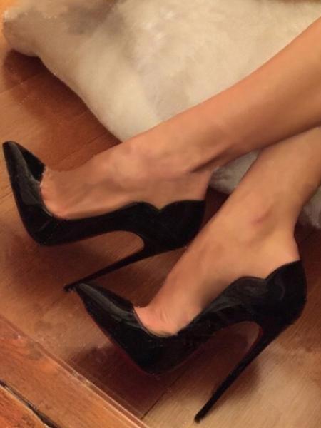 Moraima Snc Patent Leather Pointed Toe Pumps 12cm Stiletto Heels Banquet Dress Shoes Woman Black High Heels size 35-42