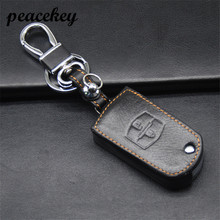 Peacekey Car Remote Key Holder Case Cover Fit For Mazda 2 Mazda 3 Mazda 5 AXELA Mazda CX-7 CX-3 CX-5 CX-7 CX-9 keyring