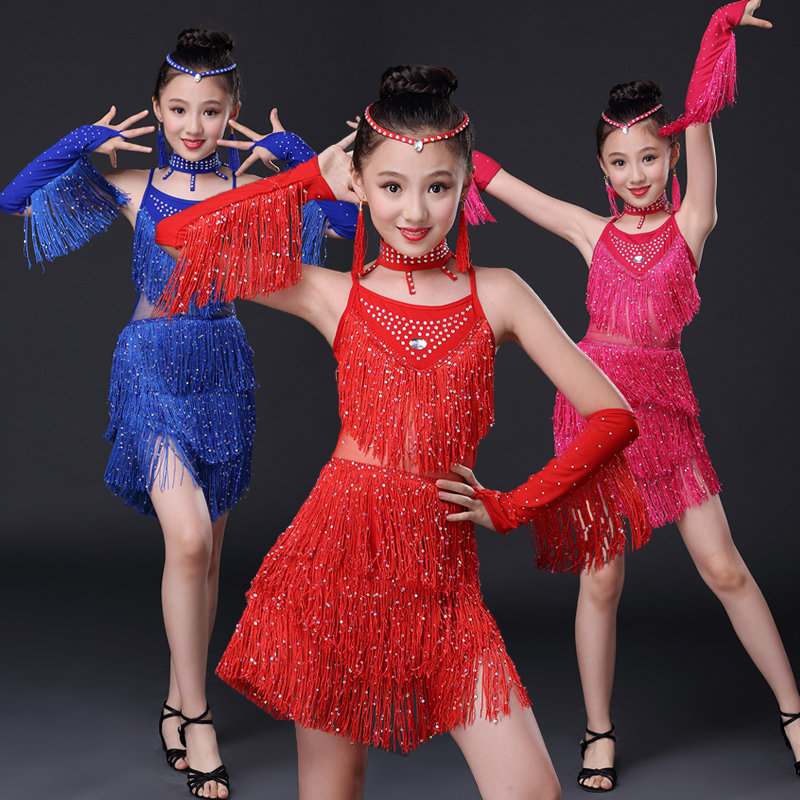 Из бахромы для латиноамериканских танцев