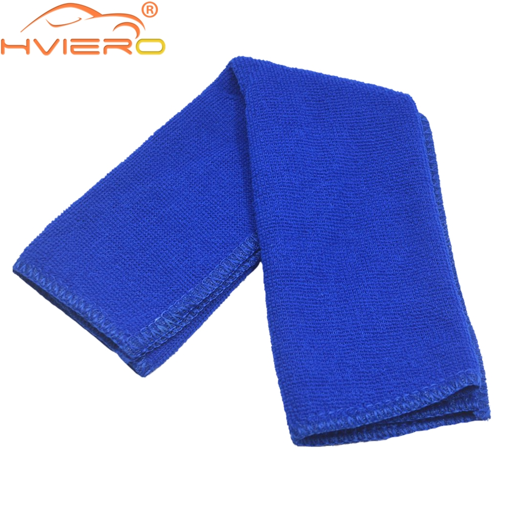 Absorbent Towel Thicken Microfiber Suede Cloths Auto Car Motorcycle Cleaning Car Care Wash Beauty Supplies Tools Sticker 30cm