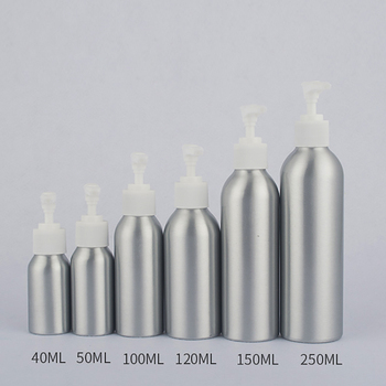 New 4 ounce Skincare Container For Serum, 120ml Aluminum Bottle For Sell Wholesale