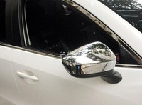 For Mazda 6 ATENZA 2013 2016 ABS Chrome Side Rearview Mirror Cover mirror trim