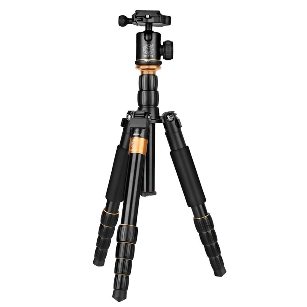 QZSD Q278 Pro Lightweight professional Tripod Ball Head for 5KG Standard Load Capacity for Canon Nikon DSLR Camera qzsd q278 lightweight compact tripod monopod