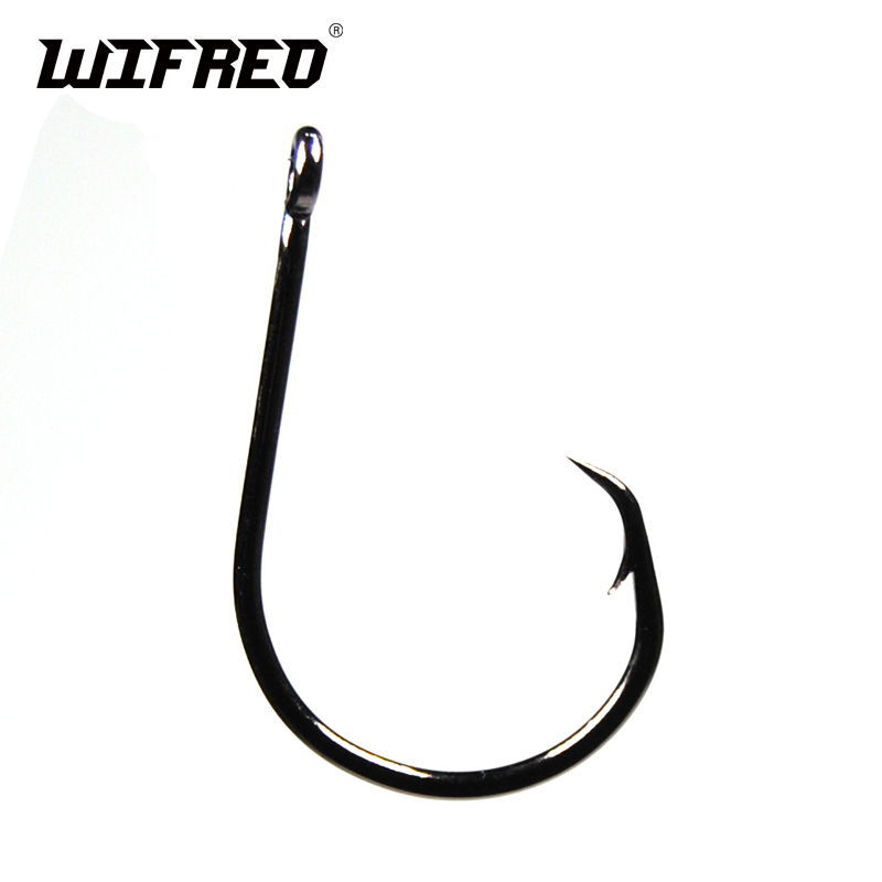 50 Size 9//0 Custom Offshore Tackle Circle Non Offset Inline Hooks 7381
