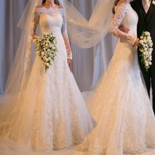 Alexzendra Mermaid Lace Wedding Dresses for Bride Dresses