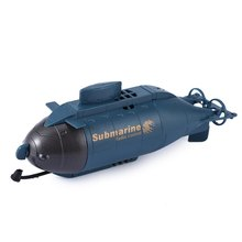 HappyCow Pigboat Model Toys 777-216 Fish Torpedo Design Wireless 40MHz Radio Remote Control Submarine Toy Gifts