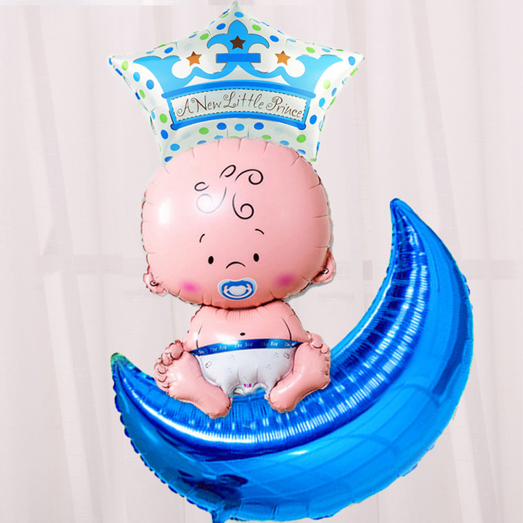 VIPOINT PARTY 36inch pink blue gold red silver moon foil ballon wedding event christmas halloween festival birthday party HY 49 in Ballons Accessories from Home Garden