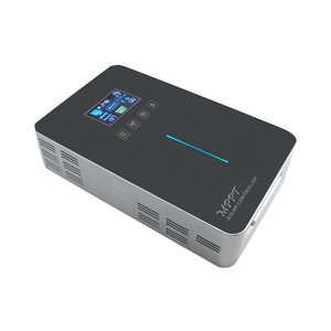 Image 2 - MPPT الشمسية جهاز التحكم في الشحن 60A 50A LCD الخلفية عرض اللمس التبديل 12V 24V 36V 48V السيارات ألواح خلايا شمسية شاحن منظم