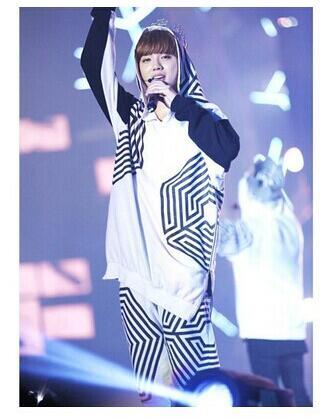Kpop home EXO overdose Sehun Beakhyun Xiumin Hoodie Pullover Suit long sleeve Outerwears