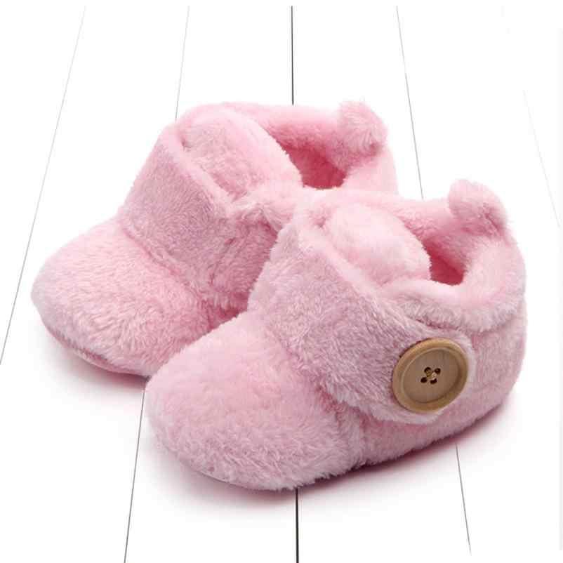 Nuevo diseño 2017 nuevos adorables niños pequeños primeros caminantes zapatos de Bebé Zapatos de punta redonda zapatillas suaves zapatos de bebé niño niñas zapatos