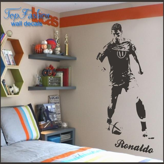 Cr7 cristiano ronaldo wall sticker children bedroom wall decal cr7 cristiano ronaldo wall sticker children bedroom wall decal wall art 3 sizes voltagebd Image collections