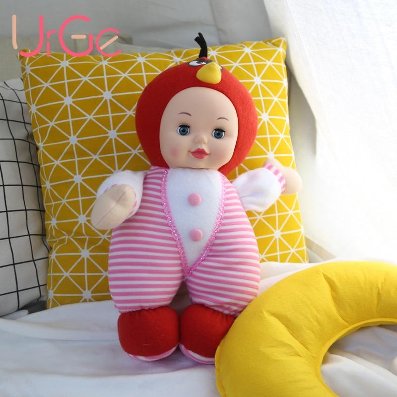 Vente chaude kawaii en peluche en peluche dessin animé enfants jouets pour enfants filles bébé poupée reborn bébé jouets anniversaire cadeau de Noël