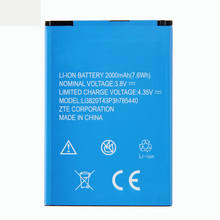 Origina High Capacity Li3820T43P3h785440 Phone battery For ZTE Blade L370 L2 Plus Accumulator 2000mAh