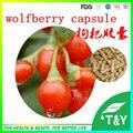Органические goji порошок выдержки/органические goji берри порошок/wolfberry экстракт капсулы 500 мг * 200 шт.