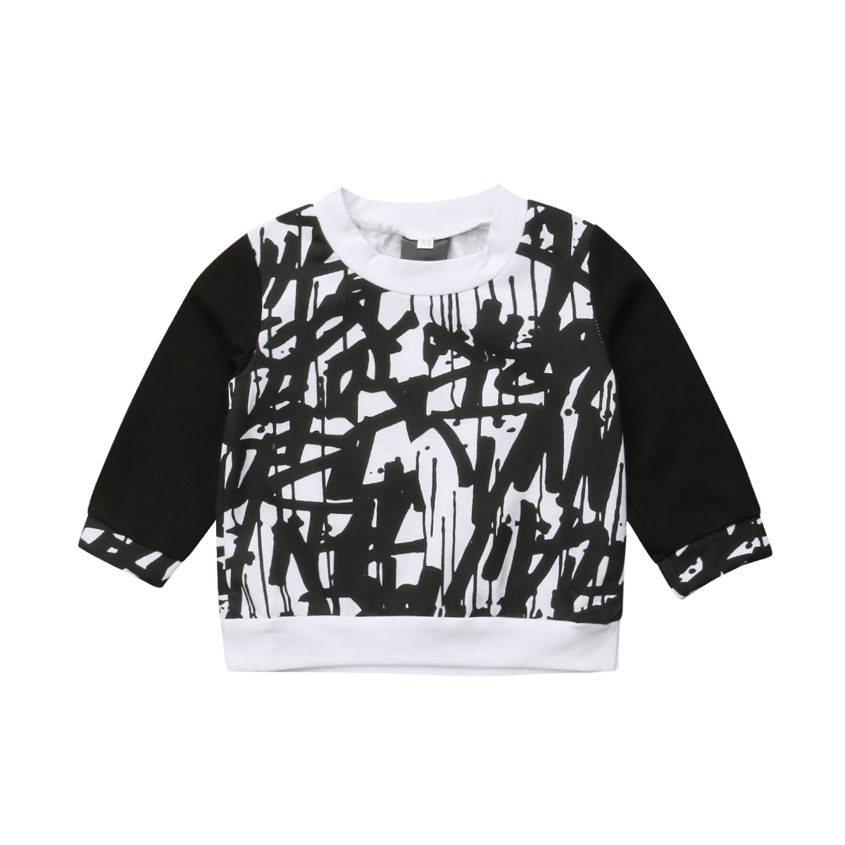 472d7273612d 0-5Y Toddler Kids Baby Boy Girl Autumn Clothes Long Sleeve Pullover Cotton Hoodies  Sweatshirt