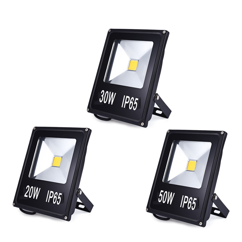 For sale led flood light 10w 20w 30w 50w projector reflector wall led flood light 10w 20w 30w 50w projector reflector wall lamp waterproof 220v led cob chip floodlight spotlight outdoor lighting aloadofball Image collections