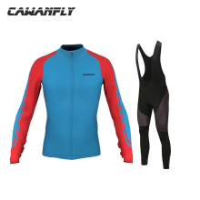 2018 Men Team Cycling Jersey Autumn Long sleeve sets  Bicycle Windproof Ropa Roupa Ciclismo Invierno  Mtb Cycling Clothing
