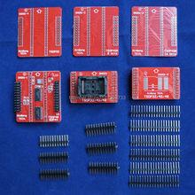 Adaptadores originales TSOP32 TSOP40 TSOP48 SOP44 adaptador ZIF kit sólo para MiniPro TL866 TL866A TL866CS Programador Universal