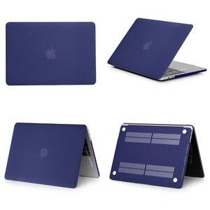 Image 4 - חדש מחשב נייד מקרה עבור אפל רשתית 11 12 13 15 16 עבור mac ספר פרו 13.3 15.4 16 אינץ עם מגע בר + מקלדת קוב
