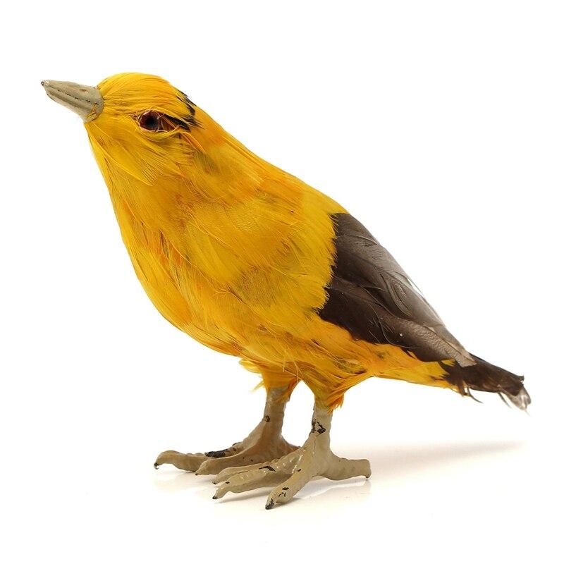 Achetez en gros oiseaux d coratifs avec plumes en ligne for Oiseaux artificiels de decoration