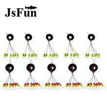 10set=60pcs Seven-star Oval Mini Fishing Float Space Beans Easy Use Floater Are Put On The Like A Stopper & Be Fixed Floats L144