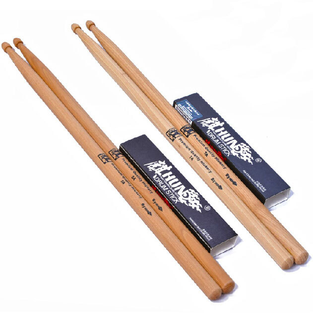 authentic hun drumsticks 5a drums drum stick drum hammer drumstick free shipping in drum. Black Bedroom Furniture Sets. Home Design Ideas
