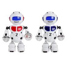 Fashion Top Popular Electronic Walking Dancing Music Light Astronaut Robot Kids