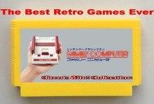 Лучший Ретро Игр Когда-Либо, классический Мини-Коллекцию FC60Pins патрон игры, Dragon Quest 1234 и Воином Дракона 1234