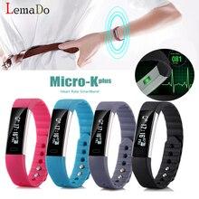 Lemado Фитнес браслет сердечного ритма Мониторы браслет Фитнес трекер активности калории спортивные часы Smart Band PK Xiaomi Группа 2