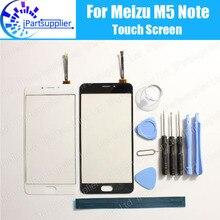 Хорошее Для Meizu M5 note Сенсорный экран Стекло 100% гарантия оригинальный планшета Стекло Панель touch замена для Meizu M5 note + Инструменты