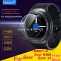 5 unids/lote al por mayor de cristal templado de cine para samsung gear s2 s3/gear2 reloj de engranajes 2 neo r380 smart protector de pantalla para s2 clásico