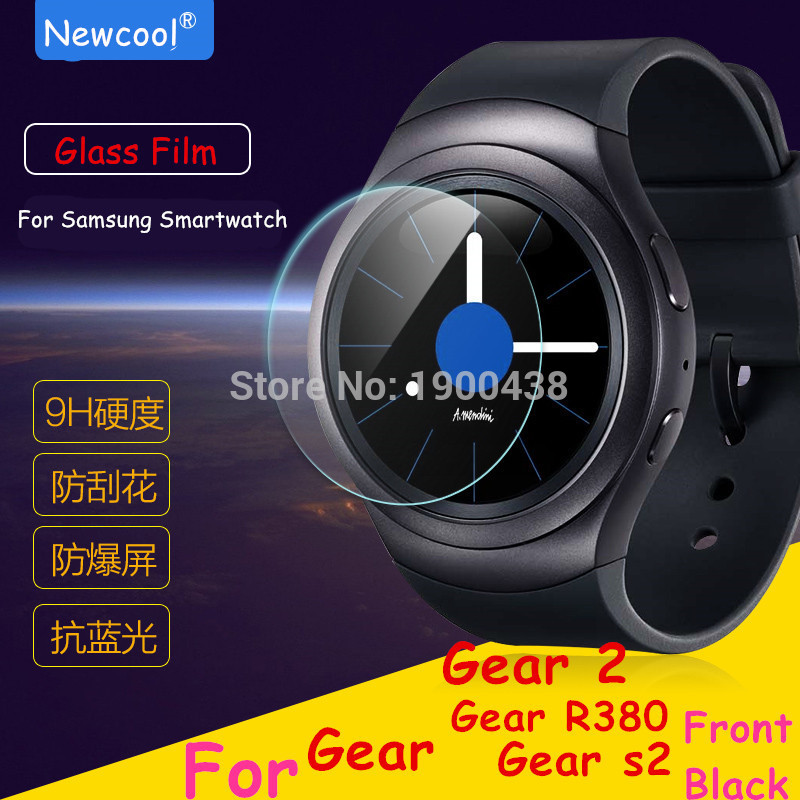 5pcs/lot wholesale Tempered Glass Film For Samsung Gear S2 / gear2 gear 2 Neo R380 Smart Watch Screen Protector For S2 Classic