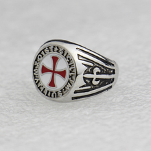 2017 Assassin's Creed 316L Titanium Steel Rings,Assassins Creed Cosplay Gamer Jewelry,Templar Ring for Women/Men Connor Kenway